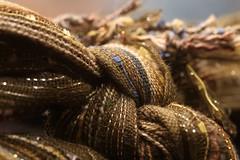 Knotty Scarf (-SOLO--) Tags: macromondays flickrfridays 7dwf fabric knot macro cloth textile