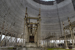inside the Cooling tower (___pete___) Tags: chernobyl pripyat nuclear abandoned ukraine tower cooling