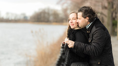 Couple on Central Park Reservoir (Havoc315) Tags: central park nikon d750 engagement couple new york city nyc centralpark newyorkcity nikond750 tamron tamron85mm tamron8518
