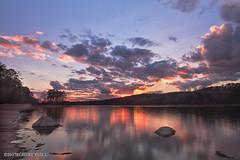 Lake Purdy Sunset (r.yuill) Tags: sunset water lake purdy
