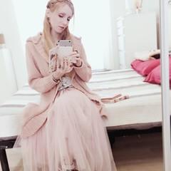 :: pink :: (Bunraku Doll) Tags: 少女 girl books チュール tulle 本 スカート 金髪 blonde longskirt ピンク pink