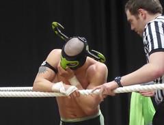 El Ligero (jacquemart) Tags: proevolutionwrestling battleofgloucesteriii elligero wrestler wrestling lutte grapple