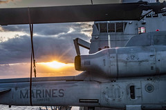 170405-N-JH293-023 (U.S. Pacific Fleet) Tags: ussgb greenbay ussgreenbay lpd20 japan sasebo bhr esg ctf76 forwarddeployed us7thfleet pacific ocean water navy ship sailors wisconsin packers vmm262 31stmeu nbu7 marines bonhommerichard bhresg patrol atsea bucknerbay jpn