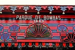 Old firehouse in Ponce, Puerto Rico (Carlos A. Aviles) Tags: ponce poncepuertorico puertorico firehouse parquedebombas arquitectura arquitecture