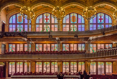 In the Concerthall... (capvera) Tags: barcelone musique catalane concert modernisme style 1900 sonyimages a7mii