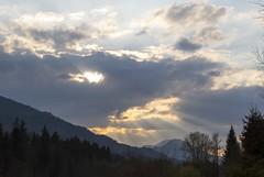 Effet de ciel.... (Elyane11) Tags: ciel nuage pluie morillonhautesavoie soirée