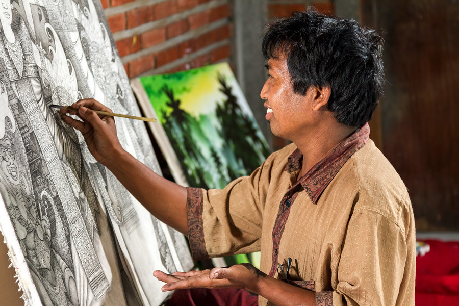 SE Asian artists are renowned for their skill at intricate details