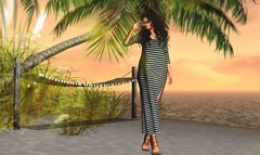 No turning back (Alexa Maravilla/Spunknbrains) Tags: dela treschic mulloy shine empire hive warpedanimations secondlife beach theepiphany outdoors sunset photography people model