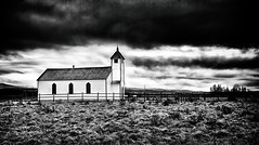 McDougall Church at Morley, Alberta (Purvesh Trivedi -www.purveshtrivediphotography.com) Tags: mcdougall church morley cochrane heritage historical alberta fineart longexposure blackandwhite clouds faith storm travel explore kananaskis calgary