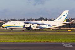 UR82008 AN124 34L YSSY-6953 (A u s s i e P o m m) Tags: antonovan124 an124 sydneyairport syd yssy mascot newsouthwales australia au
