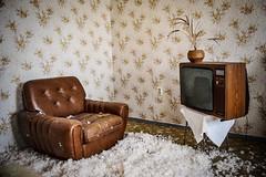 Living room (Šárkahlaváčová) Tags: oldtime urbanexploration urbanexploring hotel germany abadnonedplace decay urbex