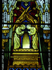 Ark of the Covenant (Aidan McRae Thomson) Tags: worcester cathedral worcestershire stainedglass window victorian hardman johnhardmanpowell