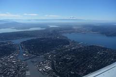 Seattle (Sean Munson) Tags: seattle aerial washington mountrainier rainier