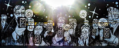 041717_1678 Misti Cooper at Stephen Palladino's painting of paparazzi in WEHO CA (DRUified) Tags: rebeccadru druified thesoulphotographer rebeccadruphotography transformationalphotography empath intuitive iamlove portraitphotography landscapephotography misticooper spiritualalchemist spiritualecstasy spiritualxtc roadtrip ontheroadwithspiritualxtc toronto chooselove healers energetichealer medicalintuitive transforminglivesactivatingsouls transformation transforminglives activatingsouls westhollywood california usa getolympus olympuscamera iwanttobeanolympusvisionary olympusomd olympusem1 olympusem5