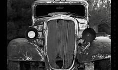 One Eye Blind (Whitney Lake) Tags: nevada ghosttown eldorado nelson car automobile rust junk antique