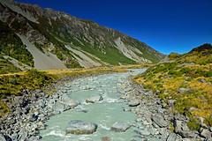 Hooker River (T Ξ Ξ J Ξ) Tags: newzealand aoraki mountcook d750 nikkor teeje nikon2470mmf28 day hooker river lake glacier