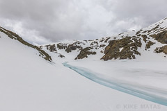 Estany de La Vall del Riu, Principat d'Andorra (kike.matas) Tags: canon canoneos6d canonef1635f28liiusm kikematas lavalldelriu canillo andorra andorre principatdandorra pirineos paisaje nature nieve montañas nubes lago hielo lightroom4 андорра senderismo