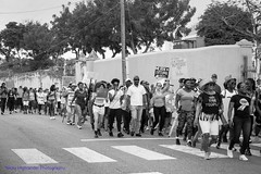 Taking It To The Streets (Nicky Highlander Photography) Tags: barbados caribbean westindies lifestyle documentary march feminists female male people outdoor streets queenspark bridgetown city capitalcity blackandwhite black white monochrome protest demonstration peace womens rights social justice causes against misogyny culture historic