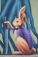 Scary Bunny (Keith Mac Uidhir 김채윤 (Thanks for 5m views)) Tags: easter bunny rabbit art graffiti street painting bulgarye بلغاريا bulharsko bulgarie bulgarien βουλγαρία 불가리아 बुल्गारिया bulgária бугарија بلغارستان bulgarije ブルガリア bułgaria болгария бугарска bulgaristan ประเทศบัลแกเรีย 保加利亚 sofía szófia sofya sófia صوفيا صوفیه 소피아 सोफिया ソフィア софия โซเฟีย 索菲亞