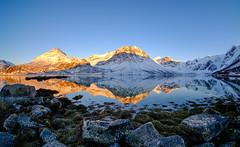 april sunset in Grøtfjord (John A.Hemmingsen) Tags: sunset snow mountains tromsø fjord fujifilm xt2 landscape grøtfjord kvaløya samyang fisheye