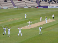DM17-16 Not this time Kyle (Dominic@Caterham) Tags: ageasbowl hampshire middlesex umpire bowler batsman fielders wicket cricket