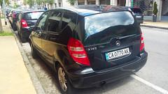 Sofia (София), Bulgaria - CA 0770 AK - Mercedes A Class (Flavio1179F) Tags: mercedes a class black bulgarian license plates old sofia spotting