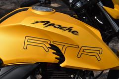TVS Apache 200 RTR Photo Shoot, Nandi Hills, Bangalore (Dinesh flicks) Tags: tvs apache 200 rtr nandihills bangalore photoshoot