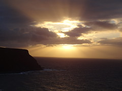DSC01268 (Saf37y) Tags: gamriebay gardenstown mhorhead morayfirth sunset seashore sea coast clouds stormy day endoftheday seagull seaside