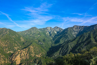 California's green mountains