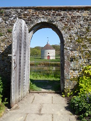 The round house (explored) (oh.suzannah) Tags: house parham walls doorway