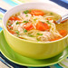 Chicken soup with noodle