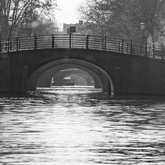 Reguliersgracht - The seven Bridges in Amsterdam (Geert Van Keymolen) Tags: amsterdam noordholland nederland nl city stad water bridge bridges brug bruggen river rivier cityview travelstory monochrome bw nikon d5200