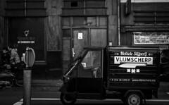 Razorsharp (Remuz59Photography) Tags: leicasummicron50mmf2 leica50mm streetphotography amsterdam streetphoto straatfoto monochrome fujixpro1