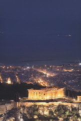Parthenon, Athens Vol.2 (http://www.7th-art.com/) Tags: parthenon athens greece acropolis canon outdoor long exposure lights spring παρθενώνασ ελλάδα αθήνα 70200mm 7thart