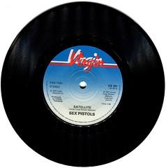 Sex Pistols - Satellite (1977) (stillunusual) Tags: sexpistols holidaysinthesun satellite single vinyl record bside punk virgin virginrecords 1970s 1977