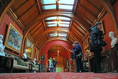 Long Gallery, Cragside, Northumberland (Geraldine Curtis) Tags: northumberland nationaltrust williammorris artsandcrafts cragside longgallery