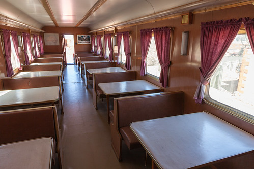 Old Ghan Train Dining Car