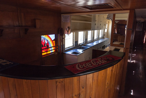Old Ghan Train Club Car Bar