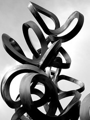 Chromatin (pedrik) Tags: bw sculpture phonecam science photoeditor structuralbiology flickrandroidapp:filter=none htconex