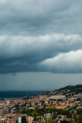 T R E 1 (Miyara Sohsai) Tags: city sea storm clouds gulf trieste