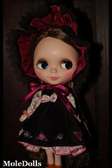 An@ is so Happy with her New Dress ♥
