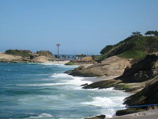 Praia do Diabo. Copacabana, Rio de Janeiro, Brasil
