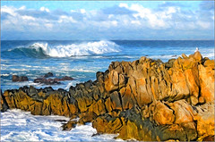 surf at asilomar (Sunnyvaledave) Tags: