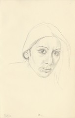 9-23-12 (Stephen Ford art) Tags: portrait pencildrawing