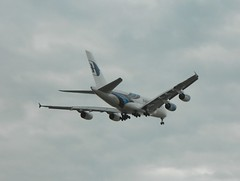 Malaysia A380 Go-Around 2 (mjabbasi) Tags: london airport heathrow malaysia airbus a380