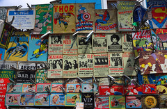 Comics And Posters (elhawk) Tags: london comics market memorabilia portobelloroad