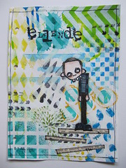 Art Journal Page: Misery (assicrafts) Tags: artjournal stampotique