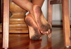 Dirty feet (nwdcguy1) Tags: dirty barefoot soles shoeless barfuss dirtybarefeet