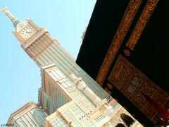 Kαbα ❤ (gLySuNfLoWeR) Tags: muslim islam prayer holy allah makkah kaba iman kabe zamzam mekke zamzamtower