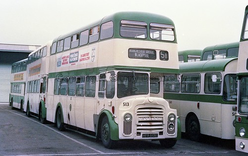 Blackpool Corporation 513 HFR 513E